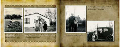Step By Step Tips For Creating A Family History Genealogy Photo Book Digital Photos 101 Vintage Photo Album Template