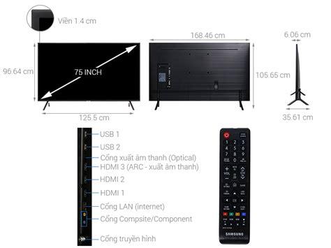 smart tivi samsung 4k 75 inch ua75nu7100 08 2018