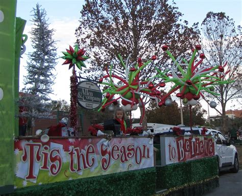 christmas parade float ideas party people celebration