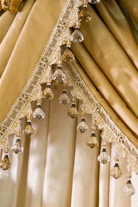 beaded trim for curtains best 25 country window treatments ideas on