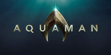 Aquaman Logo aquaman gets official logo screen rant