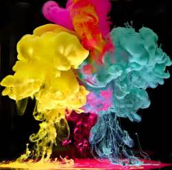 explosion of colors ink and water color explosion my modern met