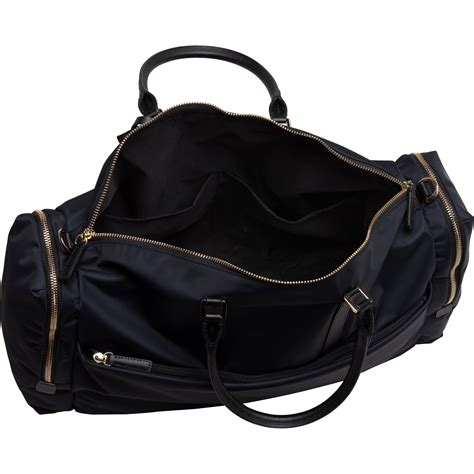 Bangkit Black Travel Bag agn 232 s b black travel boston b bag in black lyst