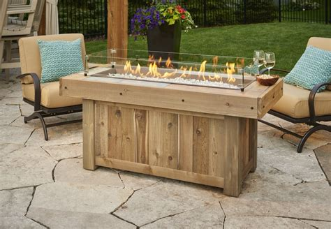 Glowing Chairs Make For Great Late Barbecues by Outdoor Greatroom Vintage 1242 Table Classic
