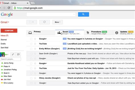 features  gmail
