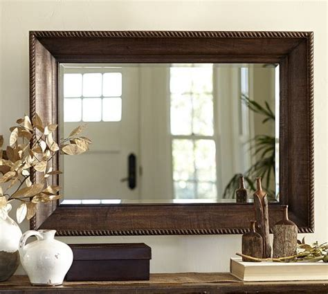 pottery barn bathroom mirror pin by lisa f on for the home pinterest