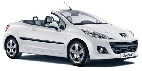 peugeot 207 convertible news peugeot launches updated 2012 207cc