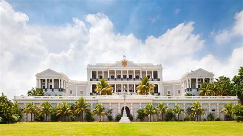 Colonial Luxury House Plans by Taj Falaknuma Palace Andhra Pradesh India