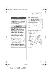 manual repair autos 2003 mazda mpv regenerative braking 2003 mazda mpv problems online manuals and repair information