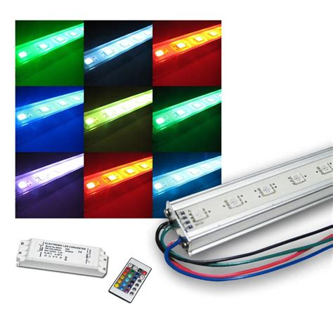 Led Beleuchtung Set by Set 4x50cm Smd Led Licht Leiste Mit Zubeh 246 R Rgb