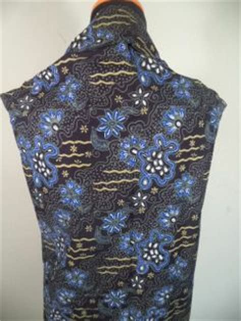kain katun motif bunga 001 kain batik motif bunga hitam putih batik tulis kombinasi