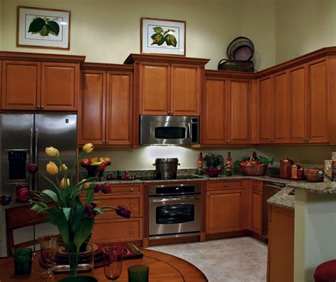 medium brown kitchen cabinets maple kitchen cabinets in medium brown finish kitchen craft
