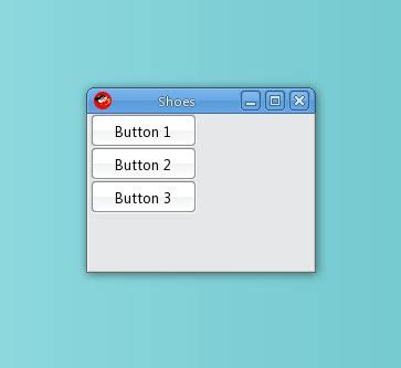 flow layout manager exle what s a stack what s a flow the shoes layout manager