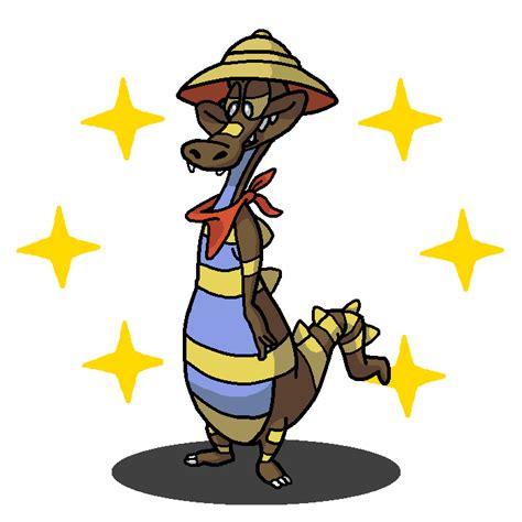 Tazmania Xl shiny krokorok axl taz mania by shawarmachine on