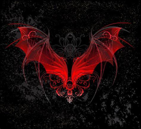 红色恶魔翅膀素材 素材公社 tooopen com