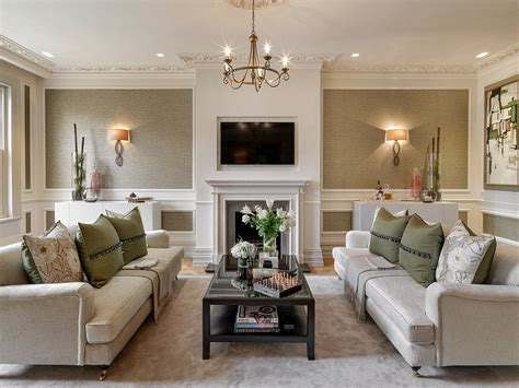 living room ls uk inside surrey s alderbrook house that scooped gold in interior design awards daily mail