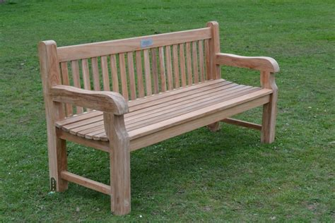garden furniture benches teak garden bench chunky