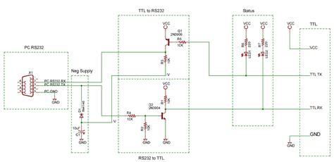 data diode hack interfaccia seriale ttl senza max232