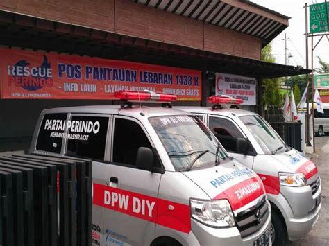 Kursi Pijat Jogja layani pemudik posko mudik rescue perindo di sleman dilengkapi kursi pijat okezone news