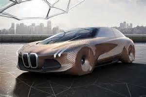 bmw showcases self driving concept car