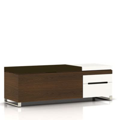 herman miller cognita bench herman miller cognita storage bench smart furniture