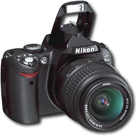 nikon digital d40 price nikon d40 6 1 megapixel digital slr best buy