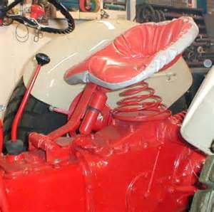 An original 8n dealer option was the e z ride seat made for ford by