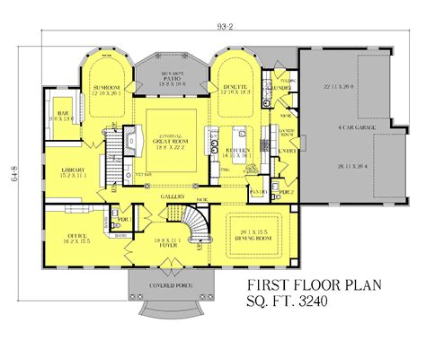 manor house floor plan georgian manor heislen designs
