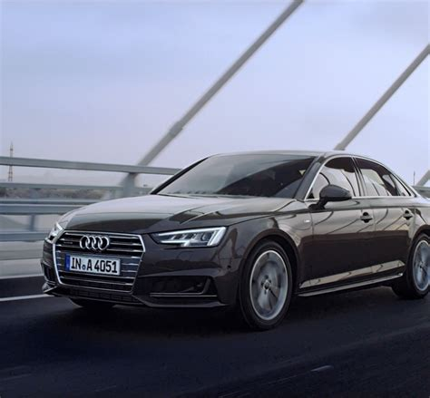 A4 Audi by The Redesigned 2017 Audi A4 Jumps To The Of The Pack