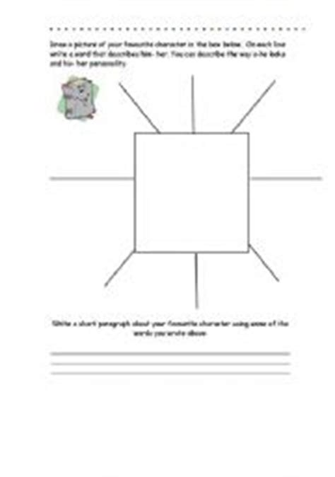 spidergram template worksheet spidergrams templates