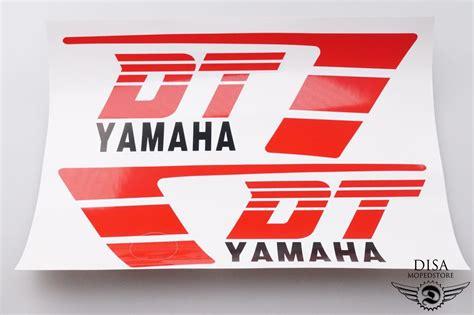 Yamaha Aufkleber Satz by Yamaha Dt 50 Mx Tank Aufkleber Satz Sticker Dekor Rot Wei 223