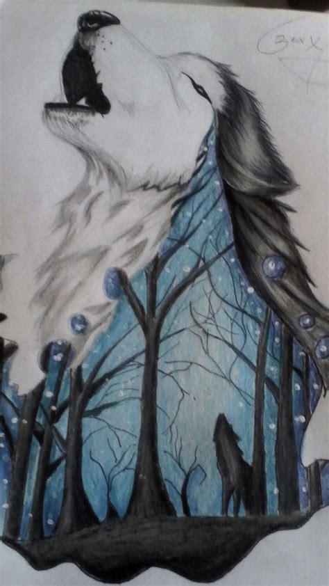 imagenes para dibujar a lapiz de lobos best 25 lobo dibujo a lapiz ideas on pinterest lobo