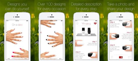 nail apps for iphone and android