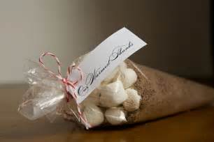 Cocoa Wedding Favor by Dyane Weddings Events Cocoa For A Winter
