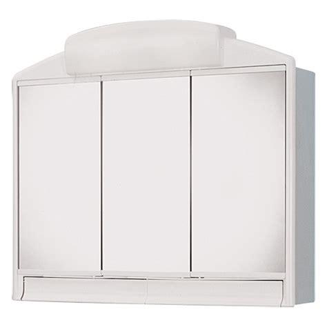 spiegelschrank plastik jokey spiegelschrank rano 3 t 252 rig kunststoff mit