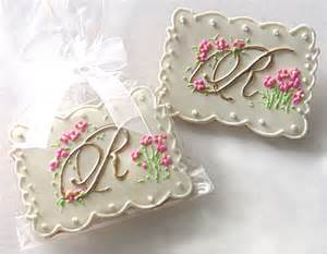 Personalized Wedding Cookie Favors by Custom Wedding Cookie Favors