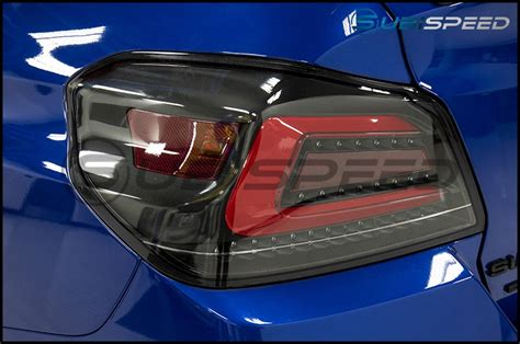 subispeed tr tail lights subispeed usdm tr style sequential tail lights 15 18 wrx
