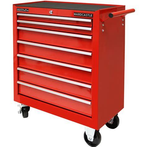 7 drawer storage cabinet metal 7 drawer lockable tool chest box storage roller
