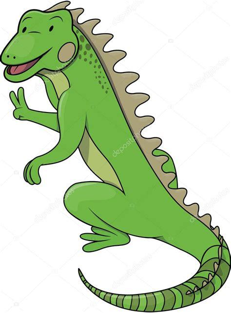 imagenes animadas de iguanas ilustraci 243 n de dibujos animados de iguanas vector de