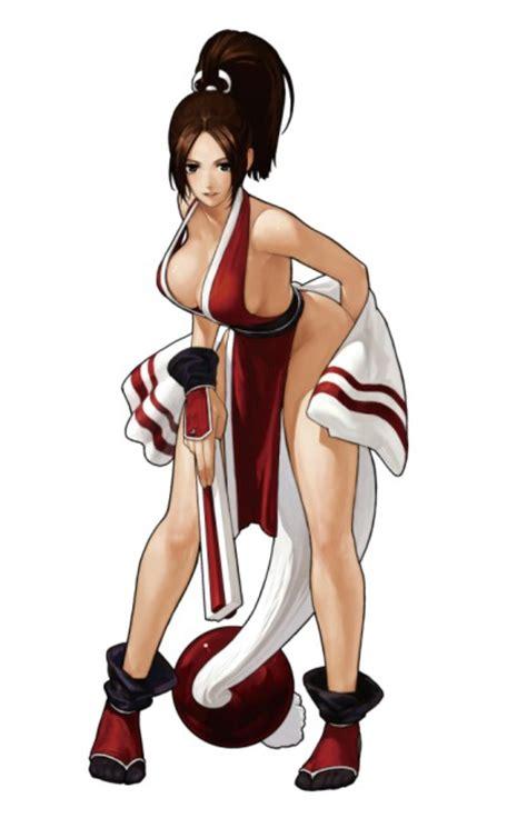 imagenes kof hot mai shiranui character king of fighters xiii mai