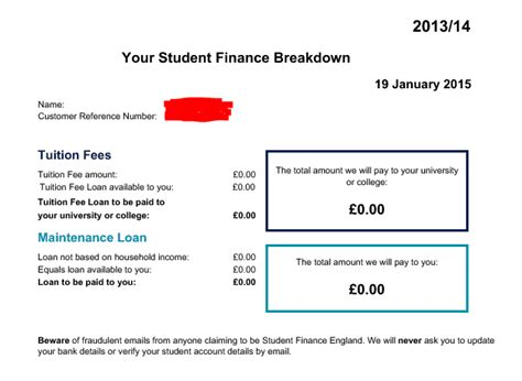 Student Finance Letter No Grant is this normal the student room