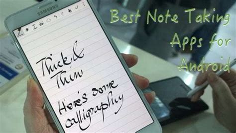 android note taking app 15 best android note taking app getandroidstuff