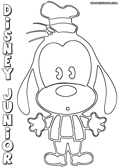 coloring pages disney junior disney junior coloring pages coloring pages to