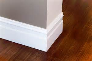 Modern Baseboard Styles molding gaps repairing how to build a house