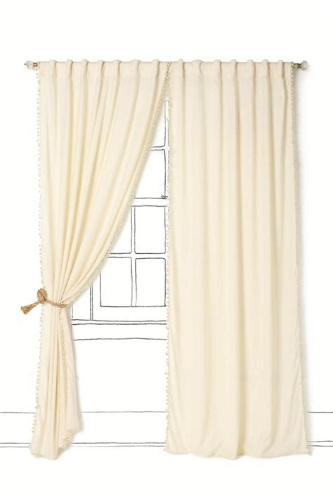 cream bedroom curtains toorie curtain