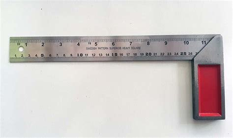 Penggaris Siku Stainless Steel P30cm 12 Vitara siku tukang penggaris siku cab murah
