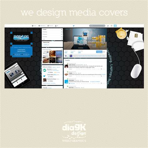 twitter cover layout portfolio facebook and twitter covers by diagk design web