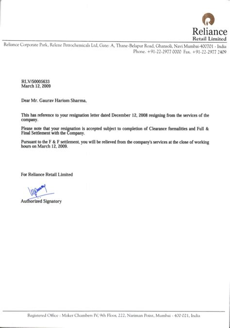 format of relieving letter 28 images letter format 187 relieving letter format cover letter