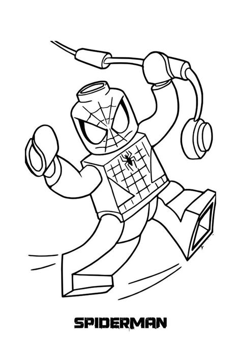 printable heroes how to print 20 best images about lego coloring pages on pinterest