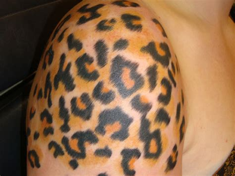 animal print tattoos leopard tattoos and designs page 9